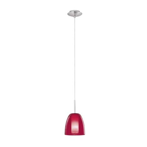 EGLO 87551 - SASSO függeszték 1xE14/40W piros