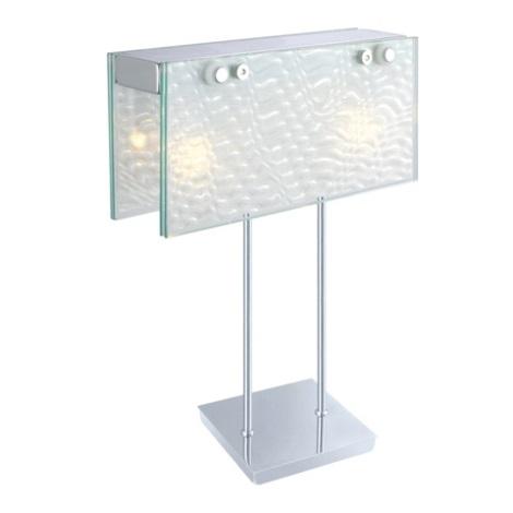 EGLO 87615 - SAMBUCA asztali lámpa 2xG9/40W króm
