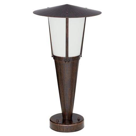 EGLO 88066 - SAN MARINO kültéri lámpa 1xE27/60W antik barna/fehér