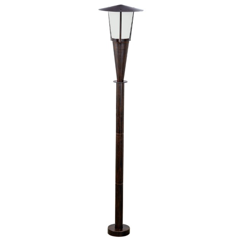 EGLO 88067 - SAN MARINO kültéri lámpa 1xE27/60W antik barna/fehér