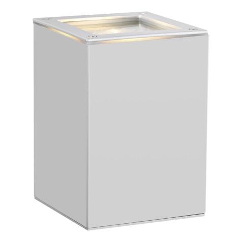 EGLO 88099 - TABO 1 kültéri fali lámpa 1xGU10/50W ezüst