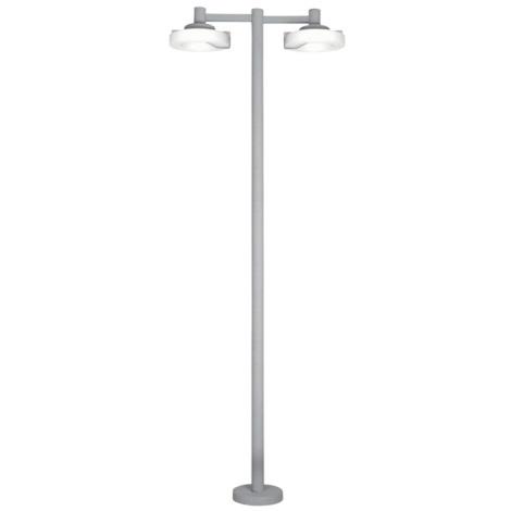 EGLO 88158 - ROI kültéri lámpa 2x2Gx13/22W ezüst/fehér