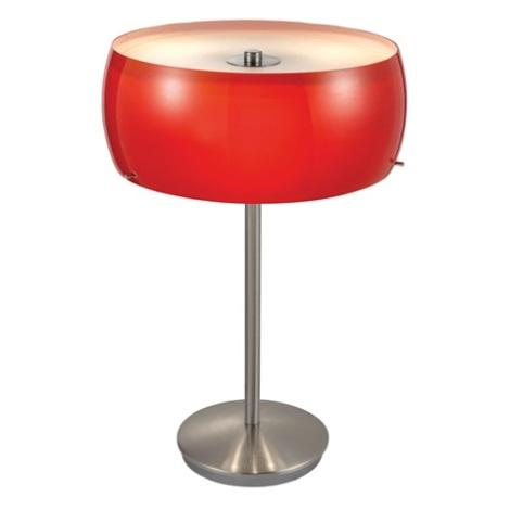 EGLO 88187 - CAMARO asztali lámpa 3xE14/40W piros