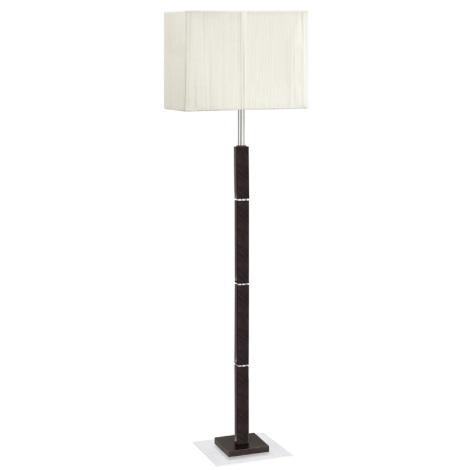 EGLO 88337 - TOSCA állólámpa 1xE27/60W barna/krémszínű