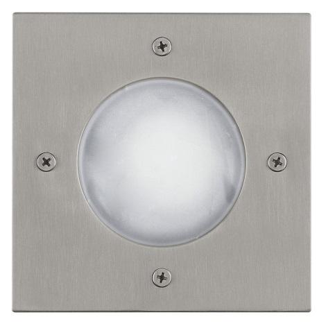 EGLO 88448 - RIGA 3 taposólámpa 1xGU10/LED/1W fehér