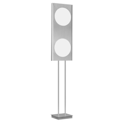 EGLO 88486 - ANAIS állólámpa 2x2GX13/40W alumínium/fehér