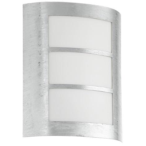 EGLO 88487 - CITY kültéri fali lámpa 1xE27/15W horganyzott acél