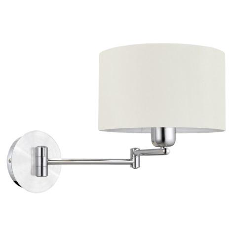 EGLO 88563 - HALVA fali lámpa 1xE27/60W fehér