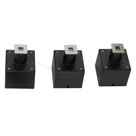 EGLO 88569 - PARK 6 LED-es kültéri talajlámpa 3db-os szett 3xLED/0,18W négyzet