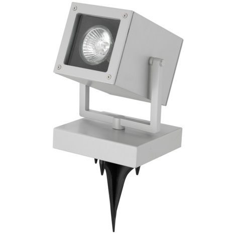 EGLO 88574 - TABO 1 kültéri spotlámpa 1xGU10/50W ezüst