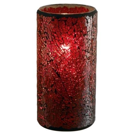 EGLO 88699 - CROCO asztali lámpa 1xE27/60W piros