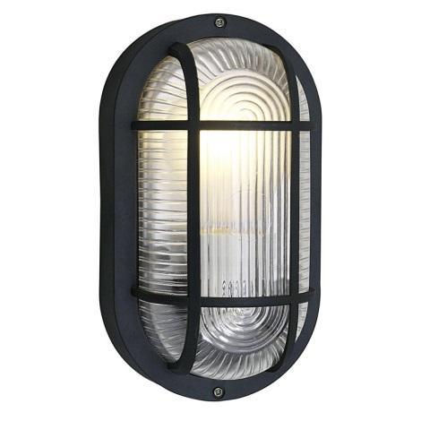 EGLO 88802 - Fali mennyezeti lámpa ANOLA 1xE27/40W fekete