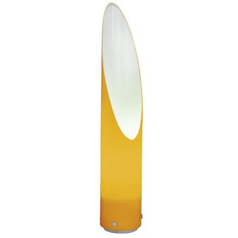 EGLO 88808 - AMALFI kültéri lámpa 1xE27/22W ezüst/narancs