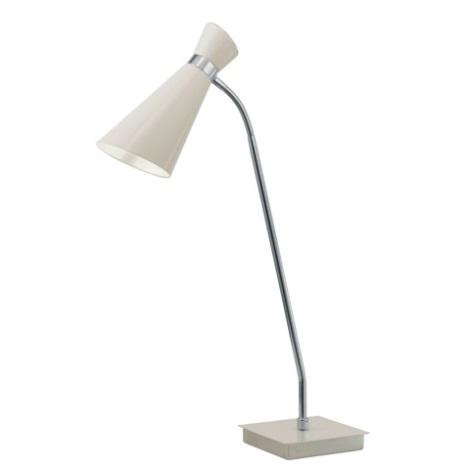 EGLO 88817 - FIDO asztali lámpa 1xE27/60W krémszínű