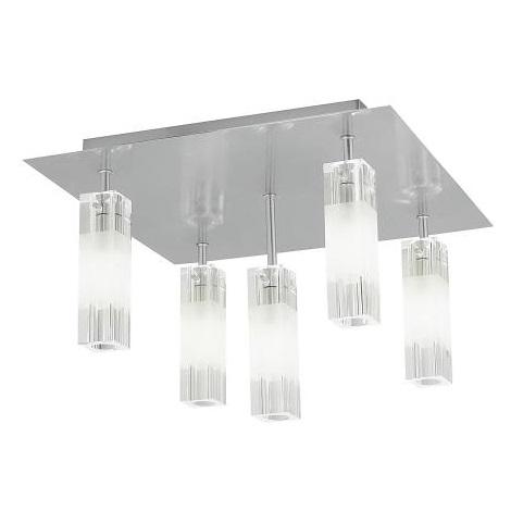EGLO 88845 - Mennyezeti lámpa ALESSA 5xG4/20W