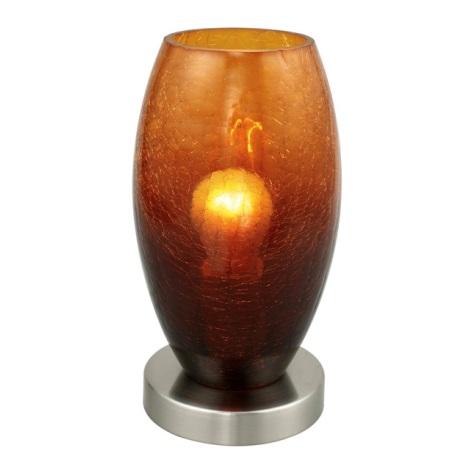 EGLO 88952 - BATISTA asztali lámpa 1xE27/60W barna