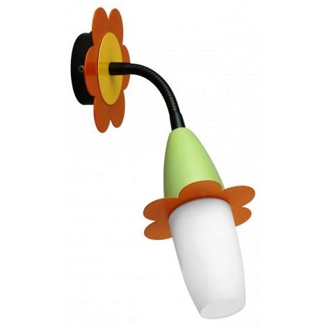 EGLO 88992 - VIKI gyerek fali lámpa 1xE14/9W színes