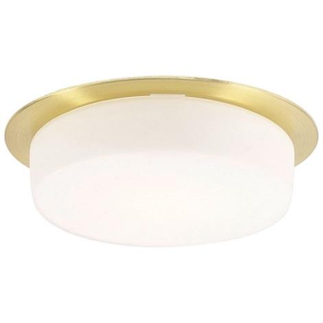 EGLO 89198 - CHIRON beépíthető lámpa 1xGX53/7W sárgaréz/fehér