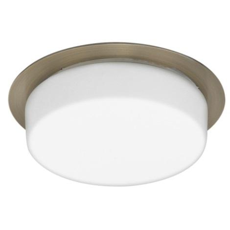 EGLO 89199 - CHIRON beépíthető lámpa 1xGX53/7W fehér/bronz