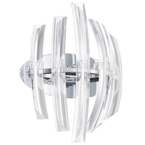 EGLO 89206 - DRIFTER fali lámpa 2xG9/40W kristály