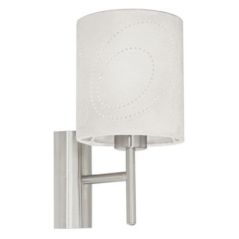 EGLO 89215 - INDO fali lámpa 1xE27/60W bézs