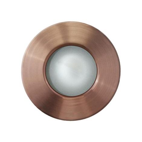EGLO 89288 - MARGO kültéri mennyezeti lámpa 1xGU10/50W vörösréz