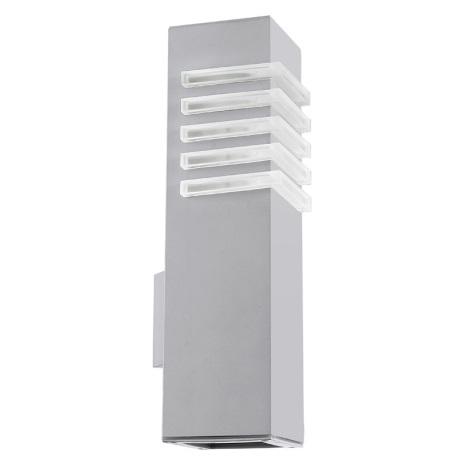EGLO 89445 - LUTON kültéri fali lámpa 1xE27/22W+1xGU10/9W