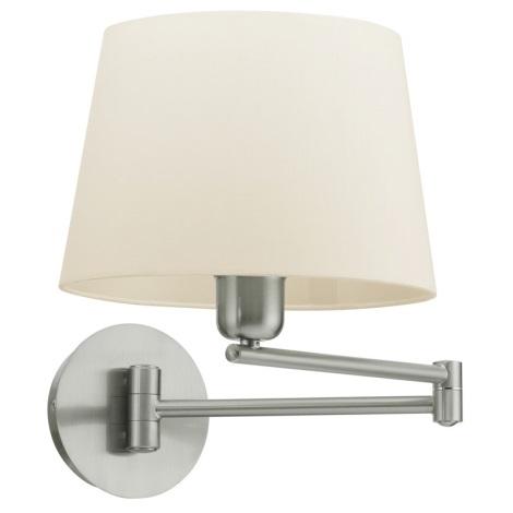 EGLO 89456 - SANTANDER fali lámpa 1xE27/60W fehér