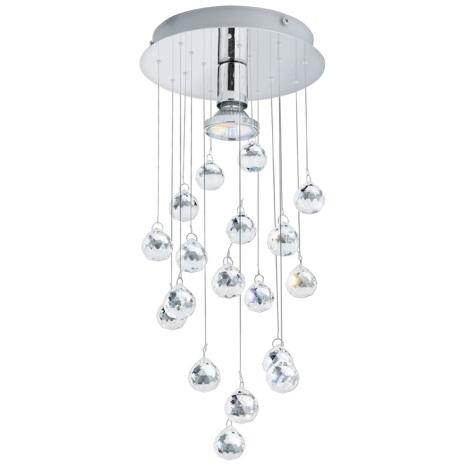 Eglo 89527 - Mennyezeti kristály lámpa LUXY 1 1xGU10/50W/230V