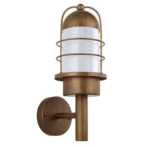 EGLO 89533 - MINORCA kültéri fali lámpa 1xE27/60W vörösréz
