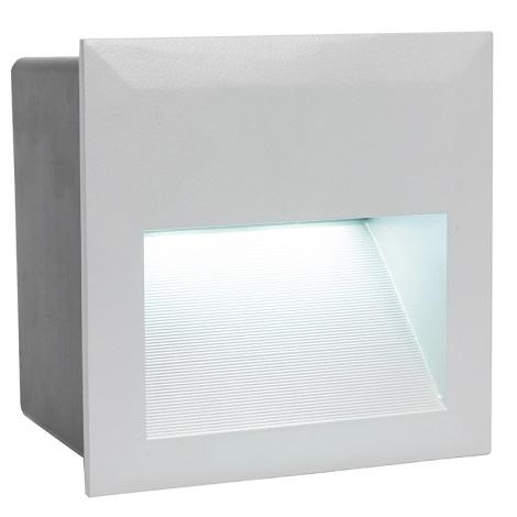 EGLO 89545 -  ZIMBA LED kültéri lámpa 1xLED/1,35W ezüst