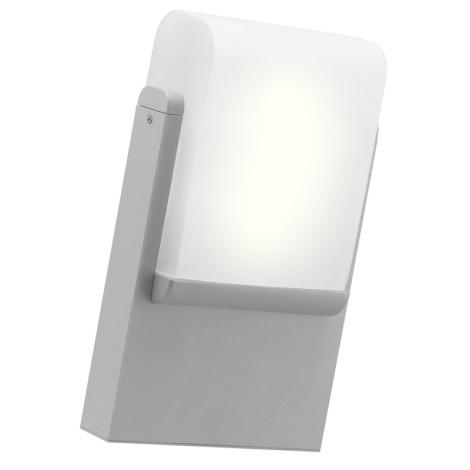 EGLO 89576 - CARACAS kültéri fali lámpa 1xE27/22W ezüst