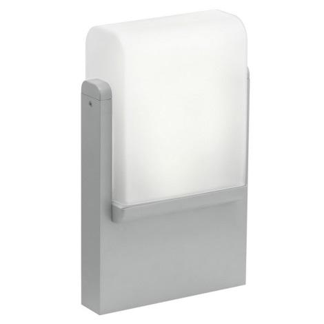 EGLO 89578 - Kültéri lámpa CARACAS 1xE27/22W ezüst