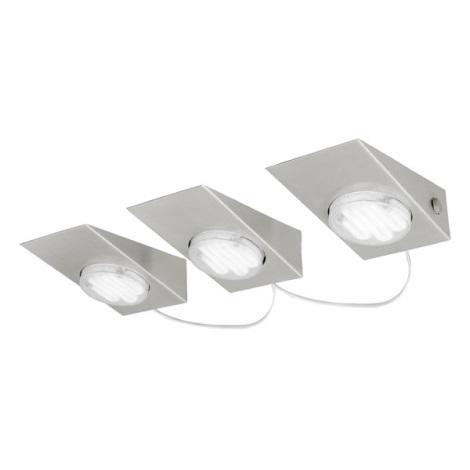 EGLO 89609 - KOB 1 mennyezeti lámpa 3 db-os szett 3xGX53/7W