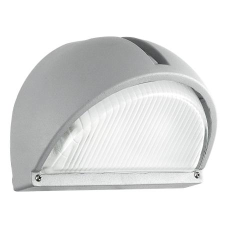 EGLO 89769 - ONJA kültéri fali lámpa 1xE27/60W ezüst