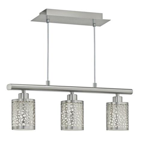 Eglo 90074 - Mennyezeti függesztékes lámpa ALMERA 1 3xE14/40W/230V