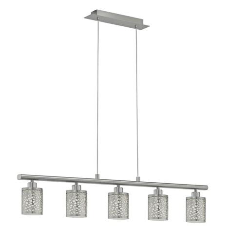 Eglo 90075 - Mennyezeti függesztékes lámpa ALMERA 1 5xE14/40W/230V