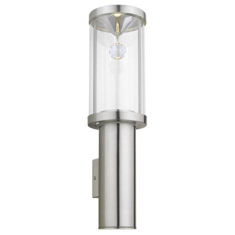 EGLO 90108 - TRONO CRYSTAL kültéri fali lámpa 2xGU10/50W
