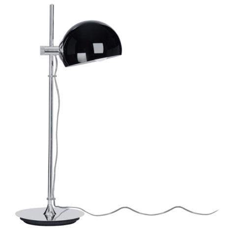 EGLO 90131 - BO asztali lámpa 1xE27/60W fekete