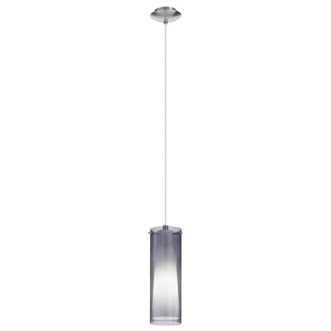 EGLO 90304 - PINTO NERO függeszték 1xE27/60W füstüveg