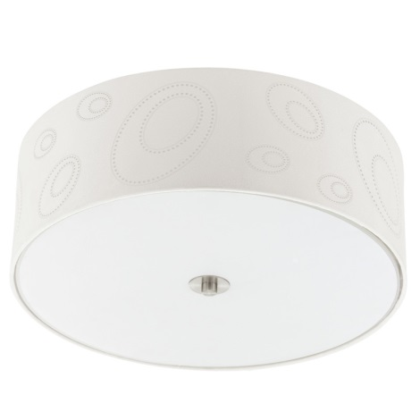 EGLO 90343 - INDO mennyezeti lámpa 3xE27/60W bézs