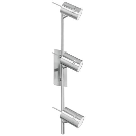 EGLO 90435 - FORMIA spotlámpa 3xGU10/9W