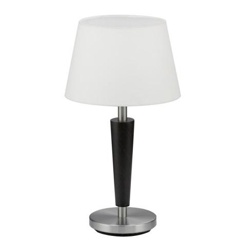 EGLO 90457 - RAINA asztali lámpa 1xE14/60W antik barna/fehér