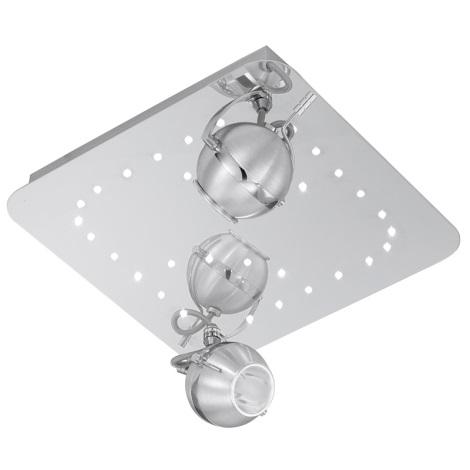 EGLO 90606 - COLEGNO LED-es spotlámpa 2xG9/40W+32xLED/0,06W