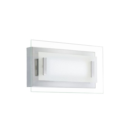 EGLO 90639 - TANO LED-es fali lámpa 2x6W(120 LED) fényes króm