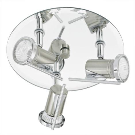 EGLO 90686 - TAMARA fürdőszobai spotlámpa 3xGU10/35W