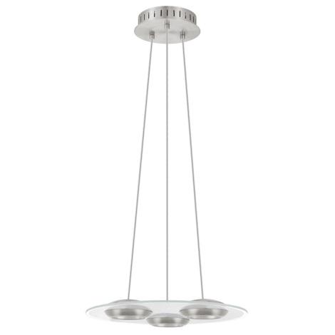 Eglo 90811 - LED függesztékes lámpa BOOTES 3xLED/7,4W/230V
