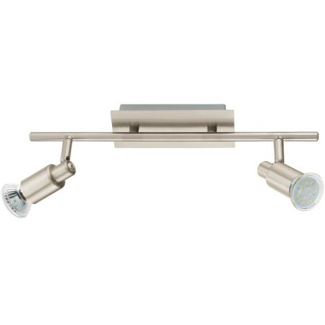 EGLO 90824 - ERIDAN fali/mennyezeti lámpa 2xGU10/LED/3W