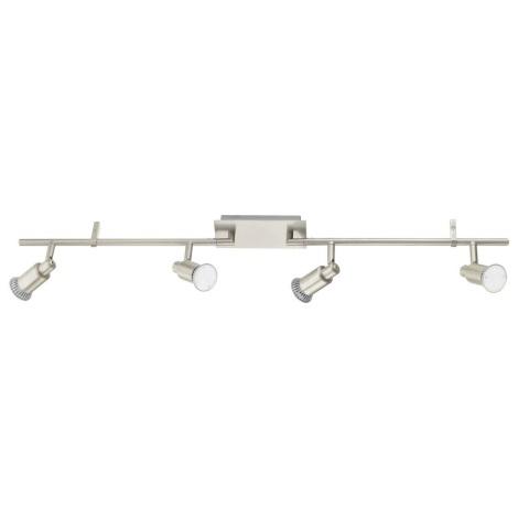 EGLO 90826 - ERIDAN LED-es spotlámpa 4xGU10/5W LED