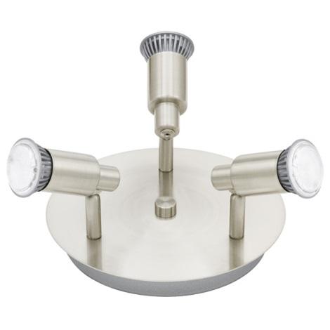 EGLO 90828 - ERIDAN LED-es spotlámpa 3xGU10/5W